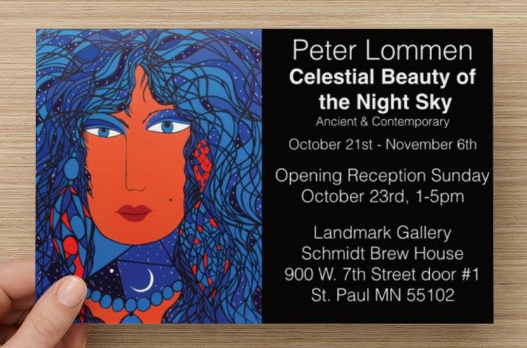Celestial Beauty of the Night Sky Opening Reception