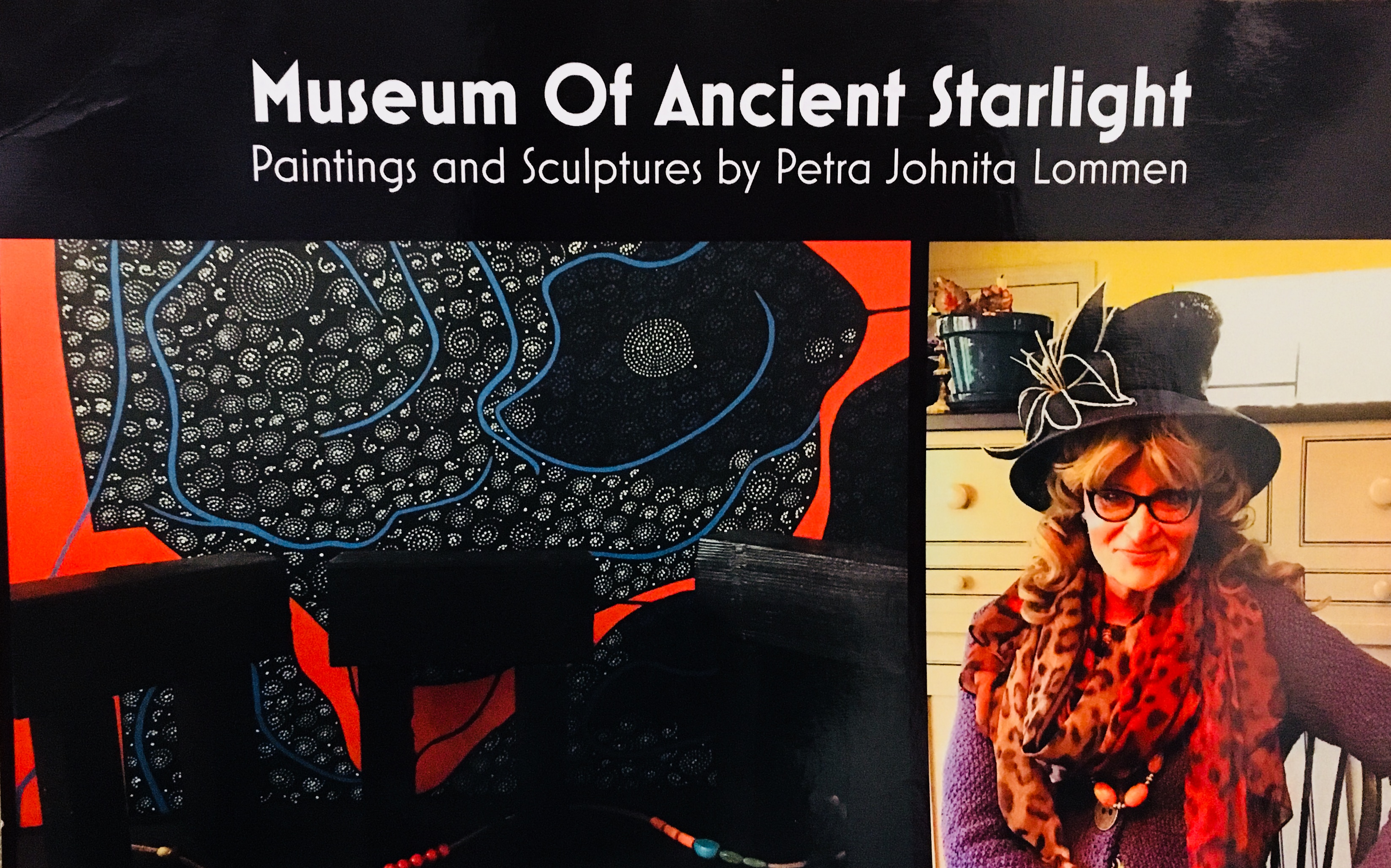 Museum Of Ancient Starlight: Paintings and Sculptures by Petra Lommen