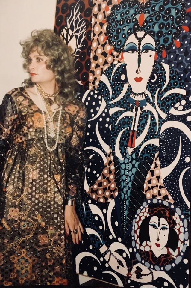 LOMMEN- Petra Johnita Lommen with Large Queen 1984