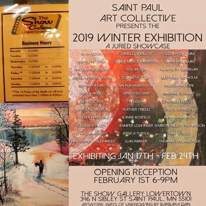 WINTER SHOWCASE EXHIBITION 2019   Show Gallery