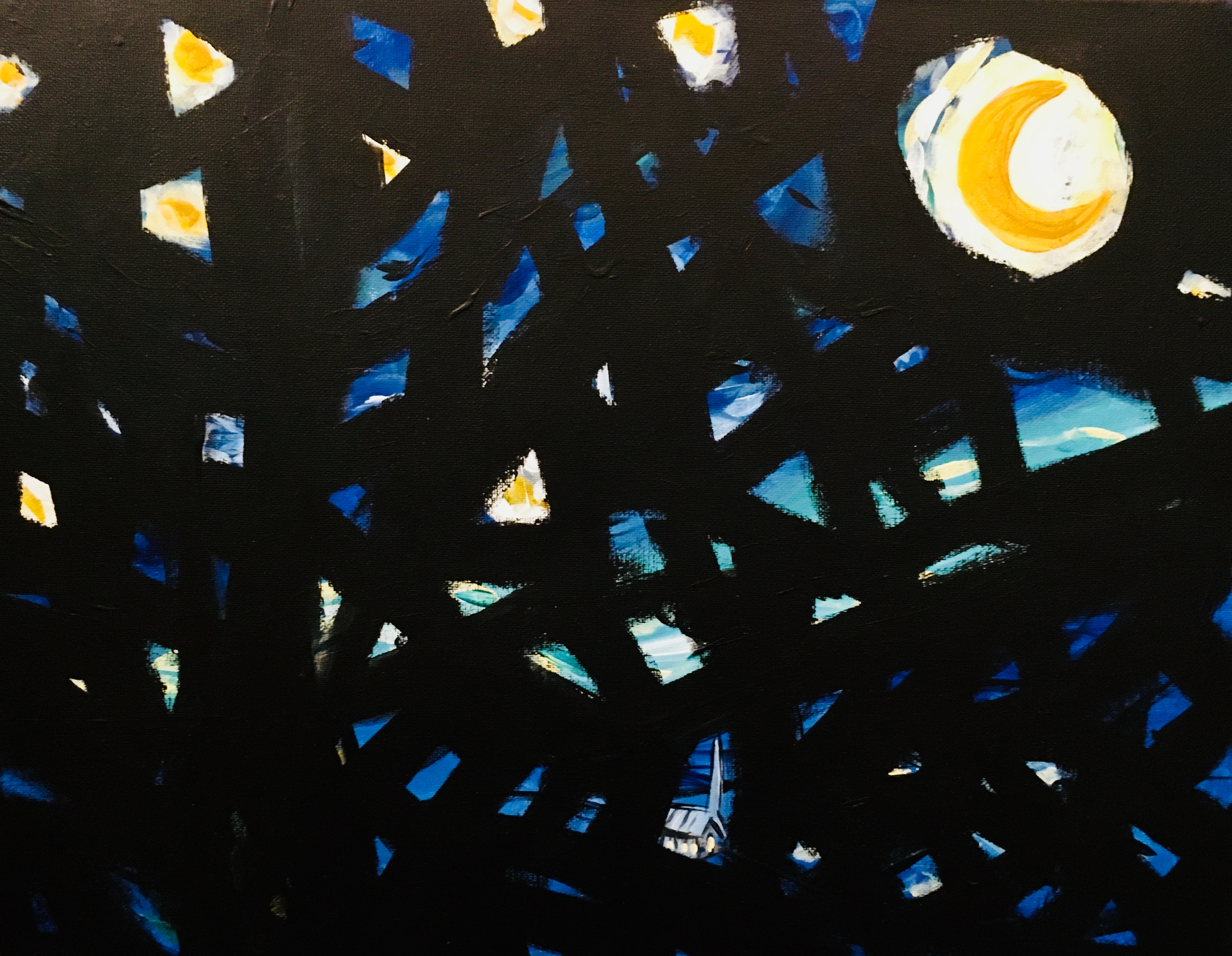 LOMMEN – Starry Night Variations No. 1 and 2, 2016